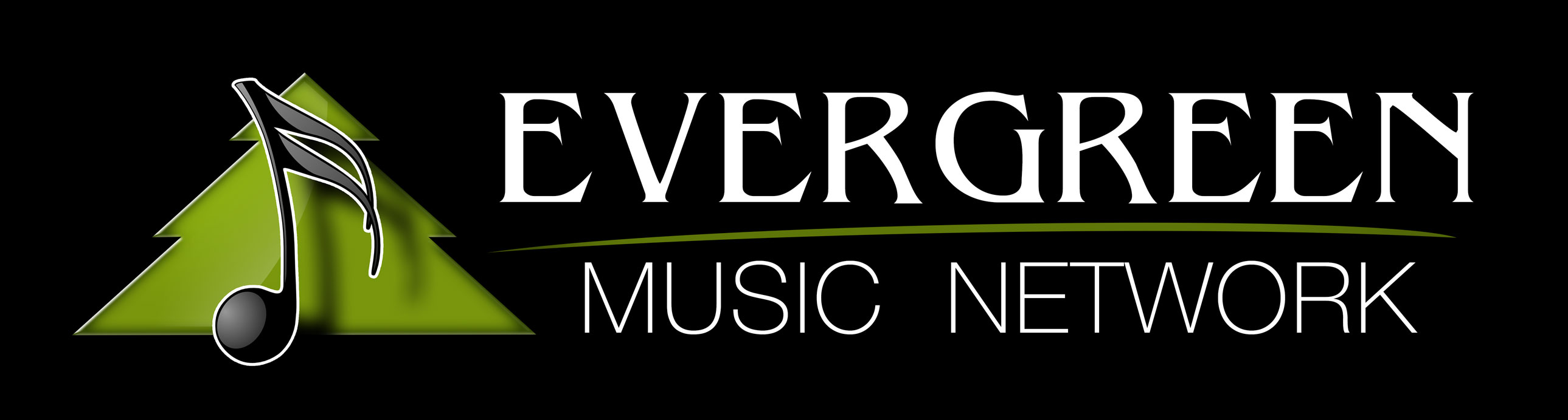 Evergreen Music Network Logo